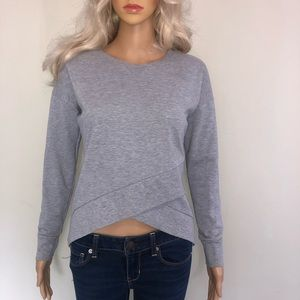 🦋 Missguided front crop crew neck sweater